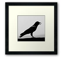 Jimmy laughing Framed Print