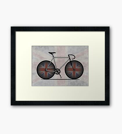 British Cycling is Brilliant Framed Print