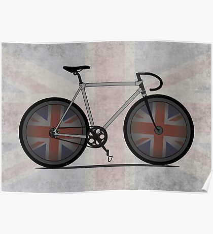 British Cycling is Brilliant Poster
