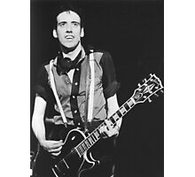 Mick Jones, The Clash Photographic Print