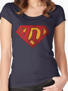 Super W Women's Fitted Scoop T-Shirt