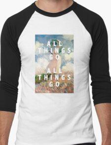 all things go Men's Baseball ¾ T-Shirt