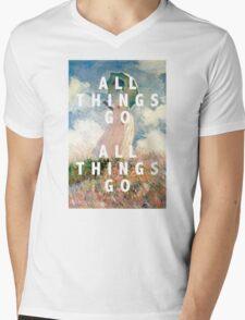 all things go Mens V-Neck T-Shirt