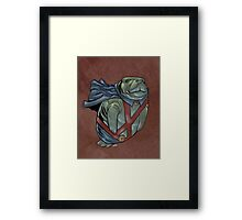 Martian Manatee Hunter SALE! Framed Print