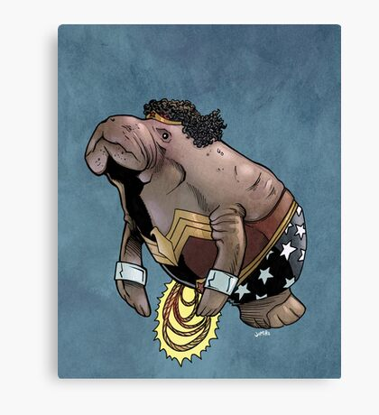 Wonder Womanatee SALE! Canvas Print