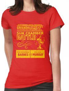 Sun Chamber Battle Womens Fitted T-Shirt