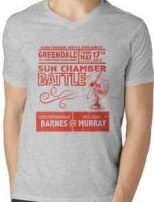 Sun Chamber Battle Mens V-Neck T-Shirt