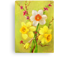 Spring Flowers 2 Canvas Print