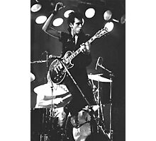 Mick Jones, The Clash #2 Photographic Print