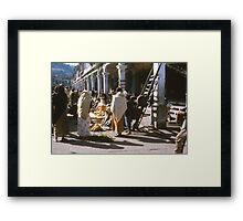 1963-1964 Bangkok, Singapore, Hong Kong, Darjeeling, Benares, Beirut, Athens, Zermatt, Monte Carlo, Lyautey, Ajaceio Framed Print