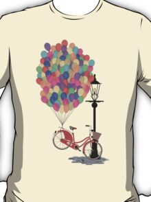 Love to Ride my Bike with Balloons even if it's not practical. T-Shirt