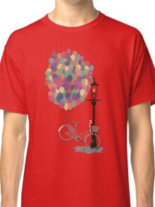 Love to Ride my Bike with Balloons even if it's not practical. Classic T-Shirt