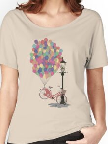 Love to Ride my Bike with Balloons even if it's not practical. Women's Relaxed Fit T-Shirt
