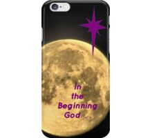In the Beginning God [iPhone - iPod Case] iPhone Case/Skin