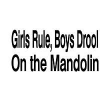 Mandolin Photographic Print