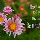 Mercy, Peace, and Love Multiplied ~ Jude 1:2 by Robin Clifton