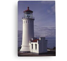 North Head Lighthouse - Washington Canvas Print