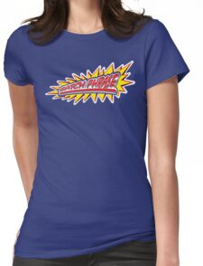 Catch Phrase Womens Fitted T-Shirt