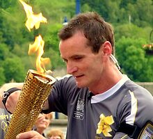 Olympic Flame by Fara