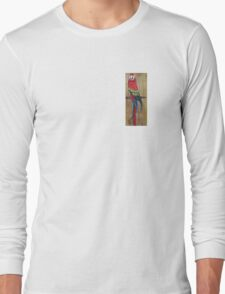 Scarlet Macaw PARROT Long Sleeve T-Shirt