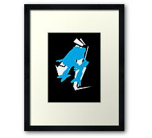 Mad Dog Graphic Tee Framed Print