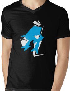 Mad Dog Graphic Tee Mens V-Neck T-Shirt