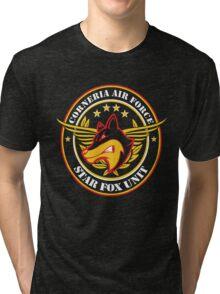 Calling Star Fox Unit Tri-blend T-Shirt