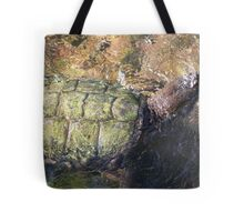 Impressionistic Snapping Turtle Tote Bag