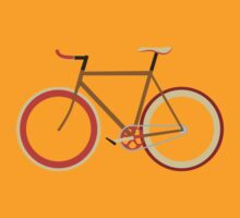 Bike ~ Fixie Warm Fall Colors by hmx23