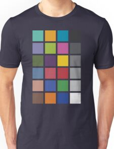Photographer's Color Checker tee Unisex T-Shirt