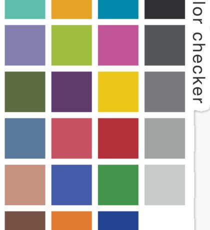 Photographer's Color Checker tee Sticker