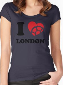 I Ride London Women's Fitted Scoop T-Shirt