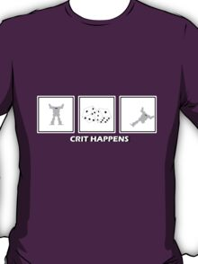 Crit Happens - Firemoth Edition T-Shirt