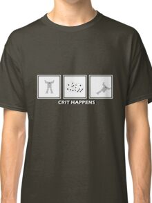 Crit Happens - Firemoth Edition Classic T-Shirt