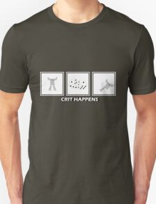 Crit Happens - Firemoth Edition Unisex T-Shirt