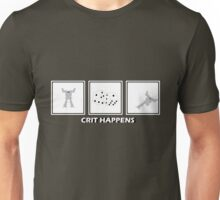Crit Happens - Firemoth Edition Unisex T-Shirt