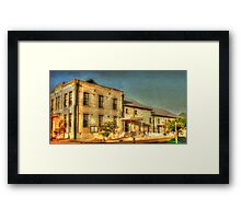Kingscote Community Hall Framed Print