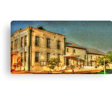 Kingscote Community Hall Canvas Print