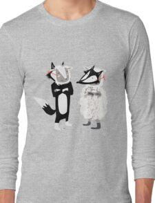 swapping roles Long Sleeve T-Shirt
