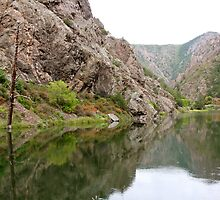 Deep in the Black Canyon of the Gunnison by KimSha