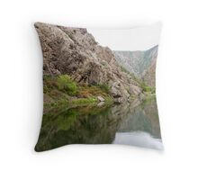 Deep in the Black Canyon of the Gunnison Throw Pillow