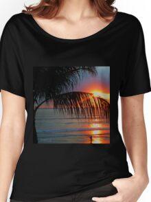 Bali Summer Sunset & Surf Women's Relaxed Fit T-Shirt