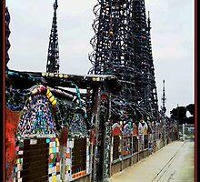 Watts Towers 1 by Glenn McCarthy