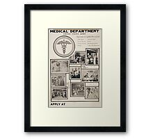 Medical Department United States Army Framed Print