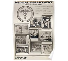 Medical Department United States Army Poster