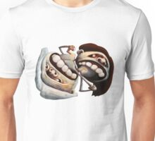 Battle of the Sexes or Yin Yang (horizontal version) Unisex T-Shirt