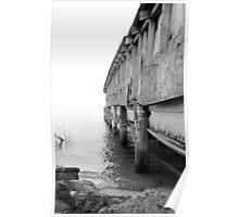 Abandon Crab Shack - Saxis, VA Poster