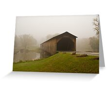 Covered Bridge, Georgia Greeting Card
