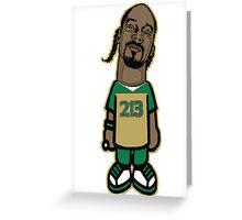 SNOOP DOGG: DOGGYSTYLE 213 Greeting Card
