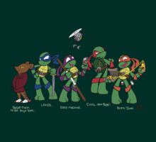Teenage Mutant Ninja Turtles by LillyKitten